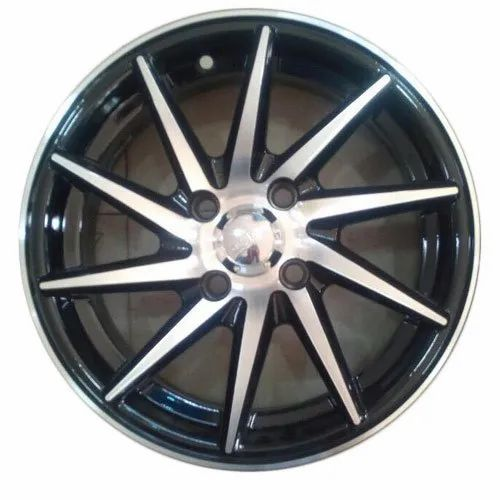 Silver And Black 14 Inch Alloy Wheels Rs 16500 Set Wheelzter Id 20208298391
