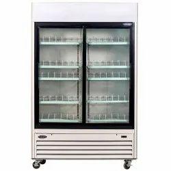 Folding Door Korean Glass Freezer, 200 Degree C, Capacity: 100 L