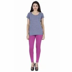 Feather Soft 95% Cotton And 5% Spandex Ladies Colo Rose Ankle Length Leggings