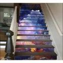 Stair Printed Glass Tiles