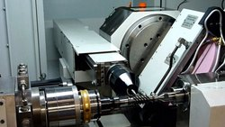 CNC 7 Axis Worm Shaft Grinder