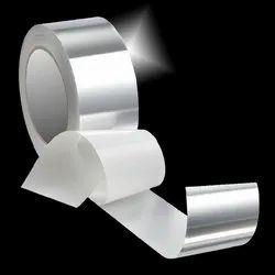 Silver Aluminium Woven Foil Tape, 50 ( Mtr ), Tape Length: 40-50 m