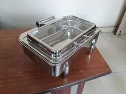 Steel Chafing Dish for Hotel, Weeding And Party
