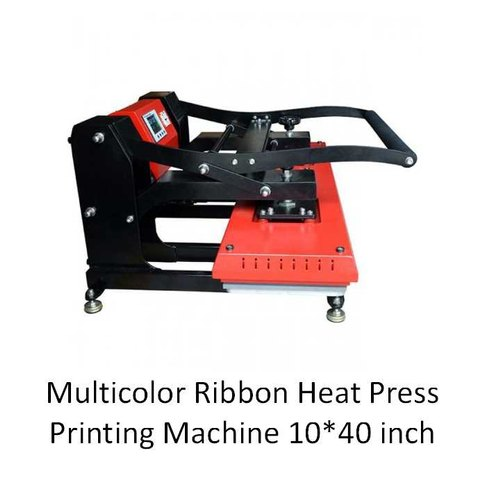 Koncept Multi Color ID Card Ribbon Printing Heat Press Machine