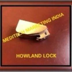Stainless steel Howland Lock, For Hospital