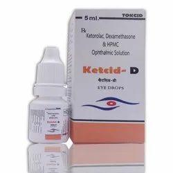 Tokcid Ketcid-D Eye Drops
