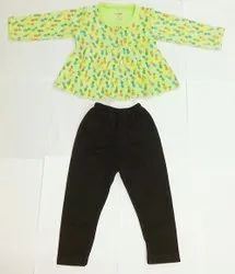 PRINTED BALLOON TOP WITH PANT