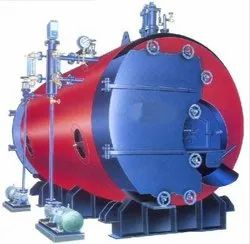 Double Ace Horizontal IBR Approved Three Pass Full Wet Back Boiler, Working Pressure: 10.54