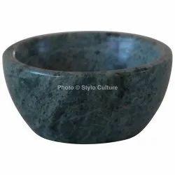 Elegant Green Marble 3 Inchs Dessert Bowl