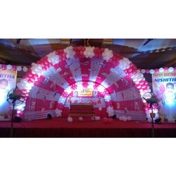 Birthday Balloon Decoration Service, Area / Size: 12/18 Feet, Hyderabad