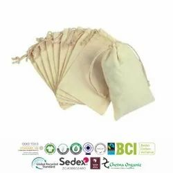 GRS Recycle Cotton Produce Bags