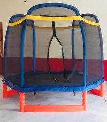 Kids Trampoline With safety net and colourful balls first quality model