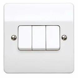 White 16 A MK Switch