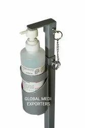 Mild Steel Hand Sanitizer Dispenser
