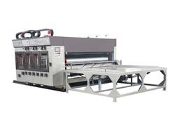 Chain Feeding Flexo Printing, Slotting & Rotary Die Cutting Machine