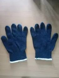 Knitted Cotton Hand Knit Glove, For Safety