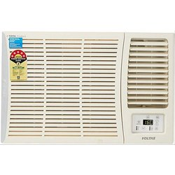 White 3 Star Voltas Window Air Conditioners, Capacity: 1.5 Ton