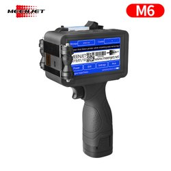 Meenjet M6 Handheld Portable Inkjet Coder, For Printing Industry, Automation Grade: Manual