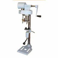 M.s Manual Bottle Cap Sealing Machine, Automation Grade: Manual