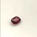GRS Certified Natural Pigeon Blood Deep Red Ruby Cushion Cut Gemstone