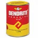 Pc-65 Dendrite Synthetic Rubber Adhesive, Tin Can, 1 L