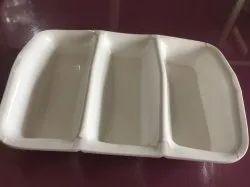 White Acrylic Sugar Sachet Holder, Size: 2x3.5
