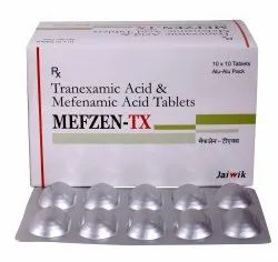 Mefenamic Acid 250 mg & Tranexamic 500 mg