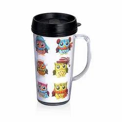 Plastic Paper Insert Mug, Capacity: 500 ml