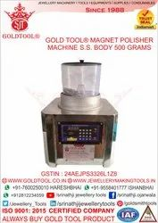 Gold Tool Magnetic Polisher Machine