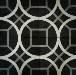 Geometic Oxide Floors Cement Tiles