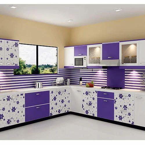 Kaka Pvc Kitchen Furniture: PVC Modular Kitchen, Modern Kitchens, Modular Kitchen