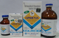 Nimesulide Paracetamol Veterinary Injection