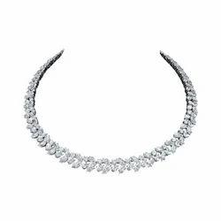 HRB出口经典钻石项链,大小:0.20克拉至25克拉