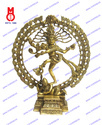 Natraj Dancing W/ Dragon On Top Statue