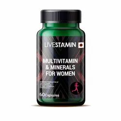 Multivitamin & Minerals Capsules For Women Vitamins Minerals Herbal Extracts Antioxidant Supplement