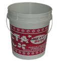 Lalta Plastic Paint Design Water  Bucket