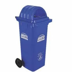 Wheel Dust Bin with Dome Lid 120 Liters