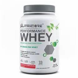 Whey Protein Blend Strawberry Milkshake 1 kg