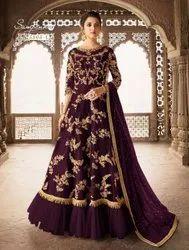 Embroidery Designer Anarkali Suit