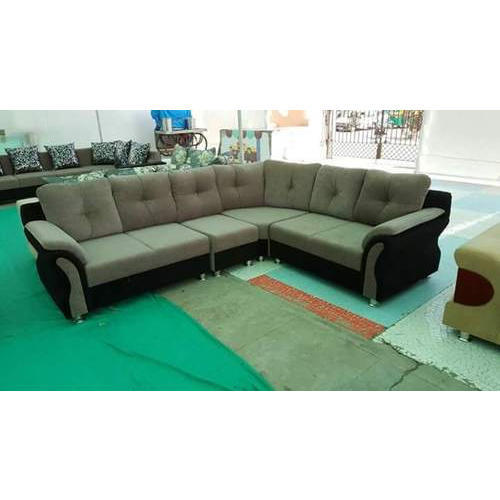 Wood Corner Sofa Set, Warranty: 5 Years, Rs 10000 /set, M R ...