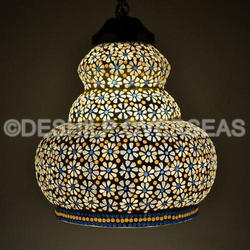 Designer Mosaic Hanging Light