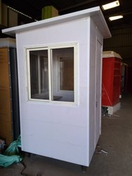 Fabricated PVC Security Cabin