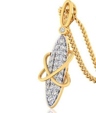 Customize Natural Diamond Pendant