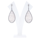 Designer Diamond Pave Earrings