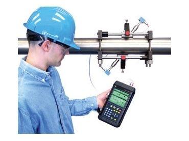 TransPort PT878GC Portable Clamp-on Ultrasonic Gas Flow Meter