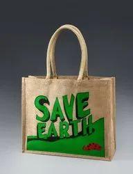 Brown Jute Promotional Bags, Capacity: 2-5kg