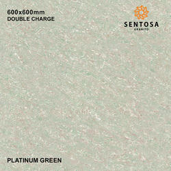 Platinum Green Double Charge Vitrified Tile