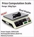 Price Computation Scale