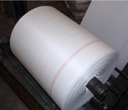 White Plain Woven Fabric