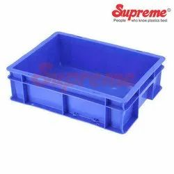 Rectangular Solid Box Supreme Crate SCL-403012 Blue, Capacity: 11.5l, Size: 400*300*120mm